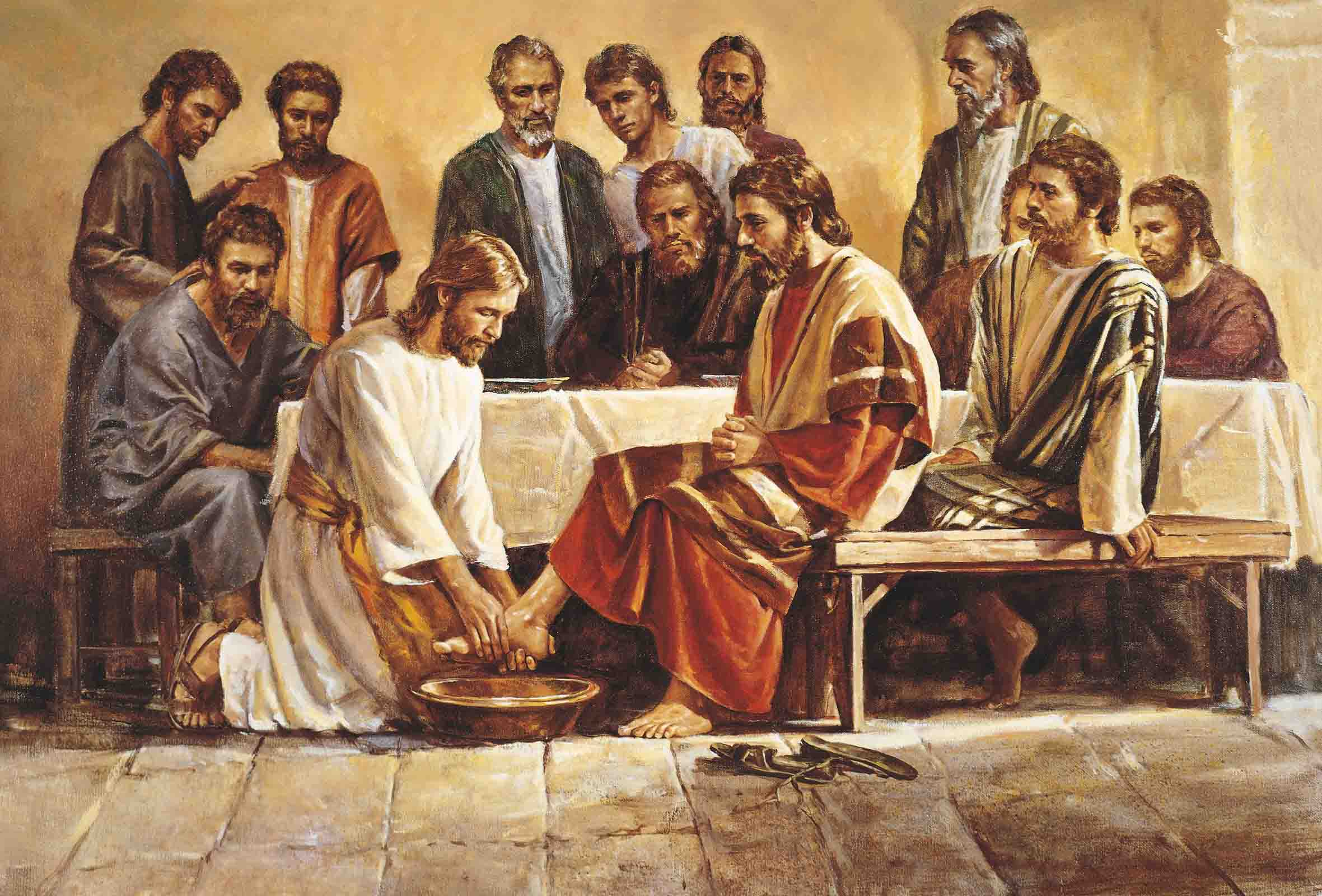 jesus-washing-Twelve-Apostles