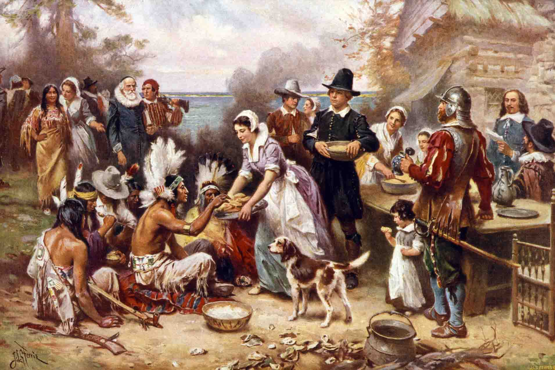 first-thanksgiving-history